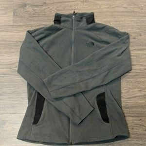 Grey/Black Northface Fleece